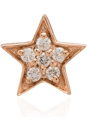 Andrea Fohrman 14kt Rotgoldohrstecker mit Diamanten