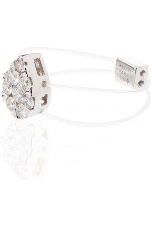 PERSÉE 18kt 'Imagine' Weißgoldring mit Diamanten