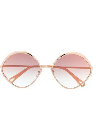 Chloé Eyewear Damen Sonnenbrillen - Sonnenbrille mit ovalem Gestell