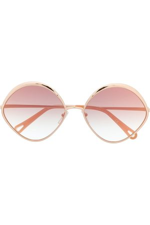 Chloé Eyewear Sonnenbrille mit ovalem Gestell