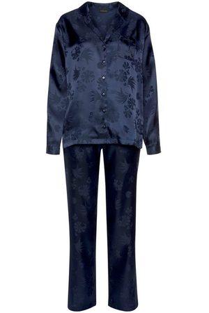 s.Oliver Pyjama aus gemustertem Satin
