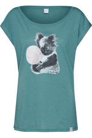 Iriedaily Damen T-Shirts - Shirt 'Koala Bubble Tee