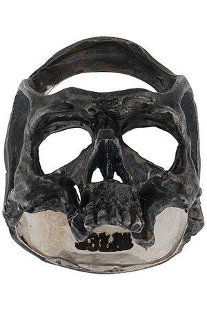 13 LUCKY MONKEY Ring mit Totenkopfform