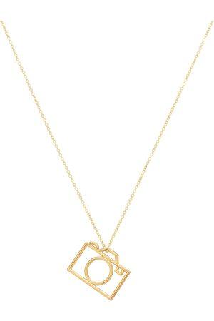 Aliita Halskette Camara Pura aus 9kt Gelbgold