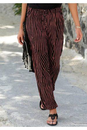 Lascana Strandhose mit Zebradruck