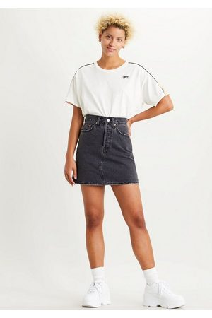 Levi's Jeansrock »deconstructed Iconic Bf Skirt« mit Knopfverschluss