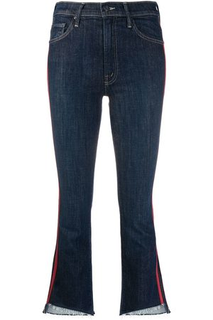 Mother Speed Racer' Cropped-Jeans