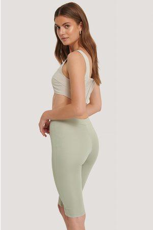 NA-KD Hose Mit Hochgeschnittener Taille - Green