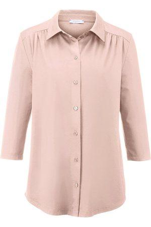 Efixelle Jersey-Bluse 3/4-Arm rosé