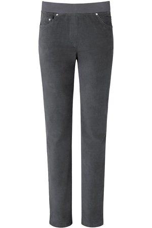 Brax Damen Slim & Skinny Hosen - ProForm Slim-Feincord-Schlupf-Hose Modell Pamina