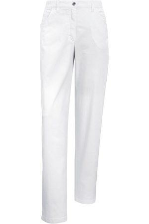 Kj Jeans Modell Babsie Straight Leg weiss