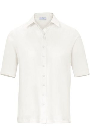 Peter Hahn Jersey-Bluse 1/2-Arm weiss