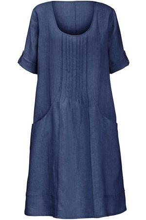 Anna Aura Kleid aus 100% Leinen 3/4-Arm