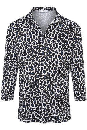 Peter Hahn Damen Blusen - Jersey-Bluse zum Schlupfen mehrfarbig