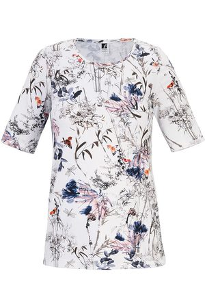 Anna Aura Rundhals-Shirt mehrfarbig