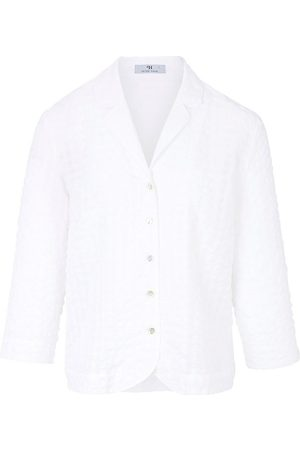 mayfair by Peter Hahn Bluse 3/4-Arm weiss