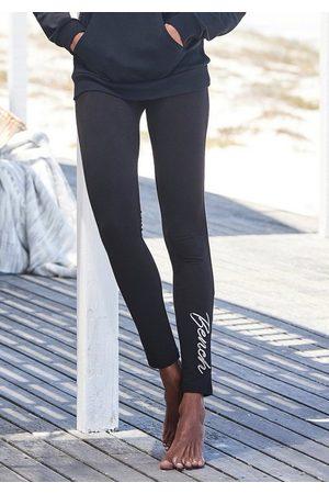 Bench Leggings mit glänzender Logostickerei