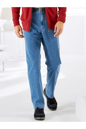 Avena Herren Jeans-Hose einfarbig