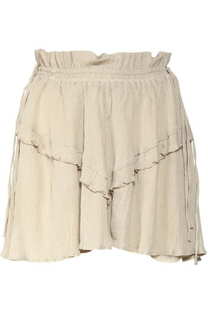 Isabel Marant Damen Miniröcke - Itelo Cotton & Viscose Mini Skirt