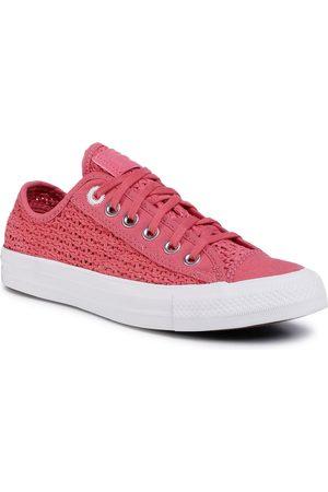 Converse Ctas Ox 567656C Madder Pink/White/Black