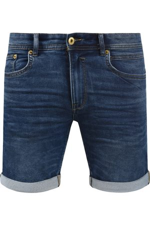 Solid Jeansshorts