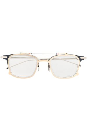 Thom Browne TB817 Iron Clubmaster' Sonnenbrille