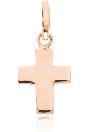 GIGI CLOZEAU 18kt Rotgold-Kreuzanhänger