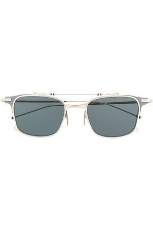 Thom Browne Eyewear Sonnenbrillen - TB817 Iron Clubmaster' Sonnenbrille