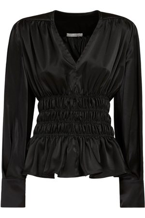 NYNNE Meryl Wrapped Satin Shirt