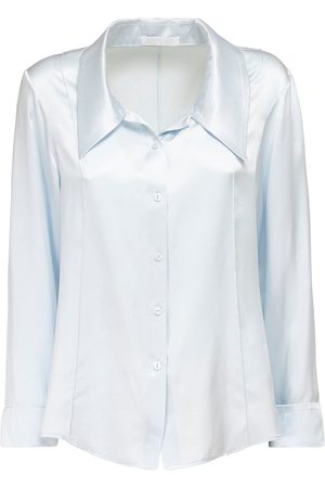 NYNNE Karen Silk Satin Shirt