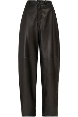 NYNNE Briony High Waist Leather Pants