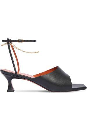 MANU 50mm Athena Leather Sandals