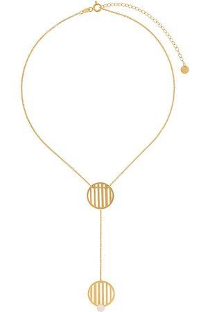 HSU JEWELLERY LONDON Double Circle' Halskette