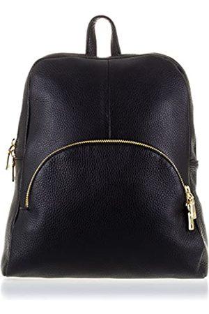 Firenze Artegiani Ledertasche Rucksackhandtaschen Made IN Italy. AUTHENTISCHE ITALIENISCHE Haut 25 5x33x10 cm. Farbe: