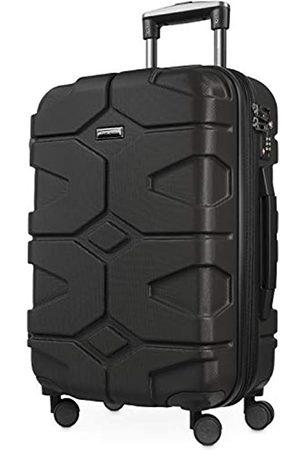 Hauptstadtkoffer X-Kölln - Handgepäck Trolley, Bordgepäck, Koffer, Volumenerweiterung, TSA, 4 gummierte Doppelrollen, 55 cm