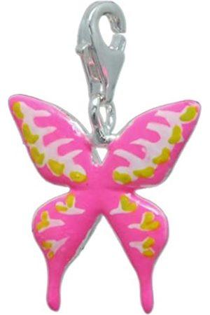 Melina Damen-Charm Anhänger Schmetterling Emaille 925 Sterling 1800211