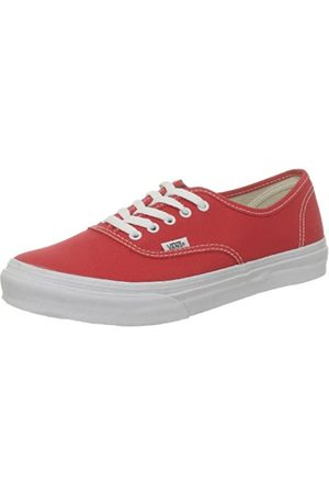 Vans U AUTHENTIC SLIM FIERYRED/TRUEWH VQEV8DU, Unisex-Erwachsene Sneaker, (FieryRed/TrueWh)