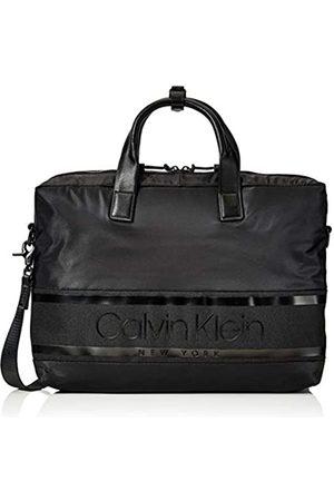 Calvin Klein Herren Striped Logo Laptop Bag Tasche