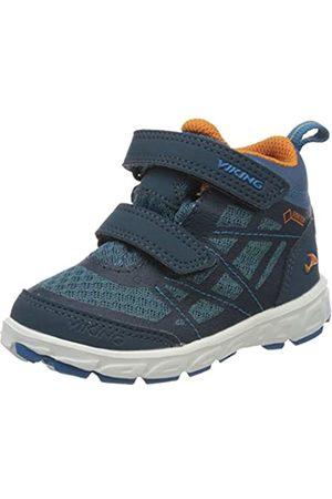 Viking Unisex-Kinder Veme Mid GTX Hohe Sneaker, (Navy/Demin 574)