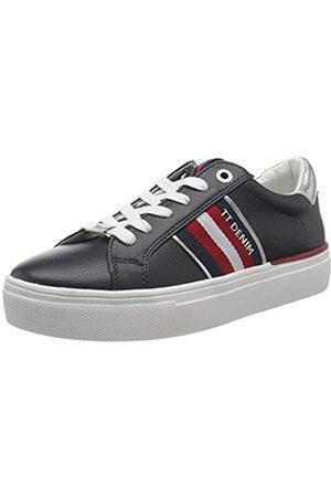 TOM TAILOR Damen 8096801 Sneaker, (Navy 00003)