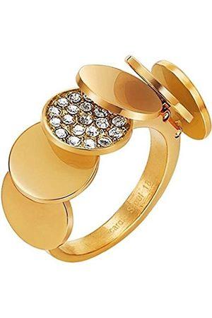 Pierre Cardin Herren-Ring 925 Sterling Silber Edelstahl rhodiniert Kristall Zirkonia Voilette Gr.53 (16.9) PCRG10006C170