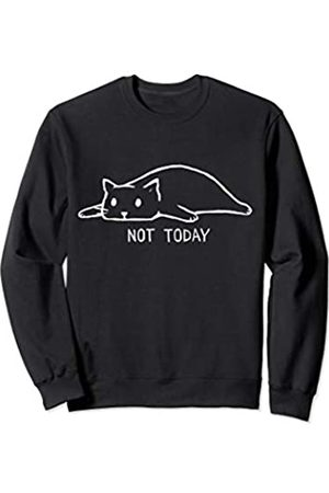 Vishtea Sorry I Cant Have Plans With My Cat Not Today Crazy Cat Lady Sweatshirt