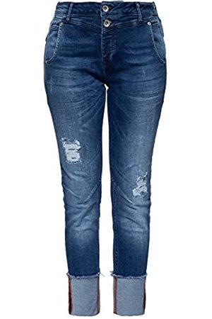 ATT Damen Boy Fit Jeans | Damenhose | Slim Fit | Stone Wash Kira