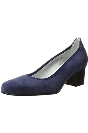 Diavolezza Damen Contessa Pumps, (Blue Blue)