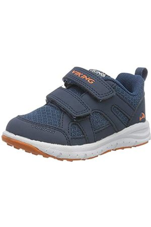 Viking Unisex-Kinder Odda Sneaker, (Navy/Demin 574)