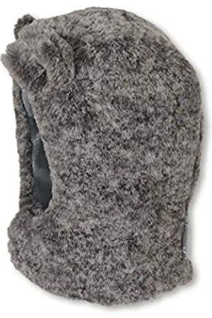 Sterntaler Schalmütze für Jungen aus Fellimitat mit abstehenden Bären-Öhrchen, Alter: 3-4 Monate, Größe: 39