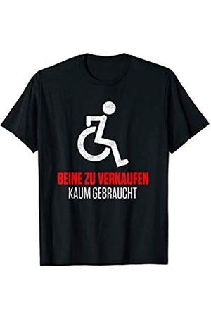 Sarkastische Rollstuhlfahrer Geschenke Lustiger Spruch BEINE ZU VERKAUFEN Rollstuhlfahrer T-Shirt