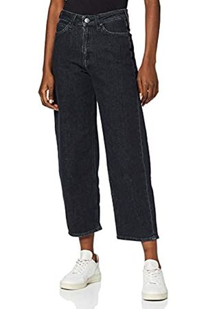 Lee Damen Straight Leg Straight Jeans 5 POCKET WIDE LEG, (Subtle Stone Ad)