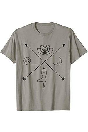Yoga: Yogamatte, Yogapose, Lotusblume, Mond Yoga: Yogamatte, Yogapose, Lotusblume