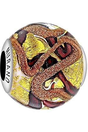 Tuscany Charms Sterling Silver Murano Bead